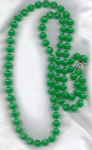 PASTEL PARFAIT green beads