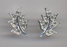 CRYSTAL FERN Earrings