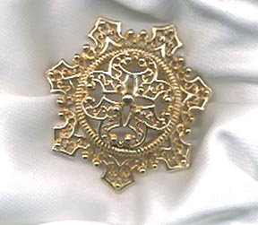 Emmons GOLDEN SCROLL Pin