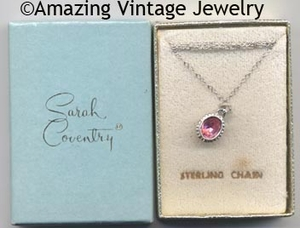 BIRTHSTONE PENDANT Necklace - October