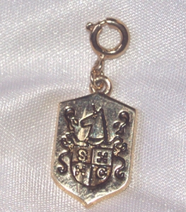 SC Coat of Arms Charm