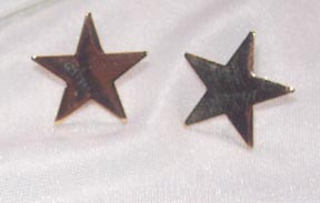 STAR SHOWER Earrings Goldtone