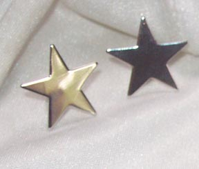 STAR SHOWER Earrings Silvertone