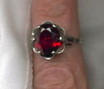Sarah's Birthstone Rings - July