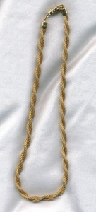 GOLDEN BRAIDS Necklace