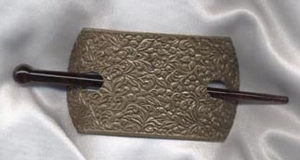 FASHION-HOLD Barrette - Bronze