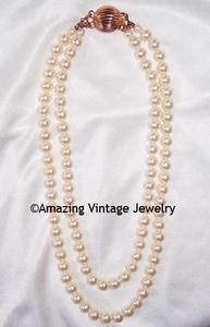 PEARL DUET Necklace