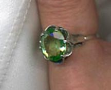 Sarah's Birthstone Rings - August