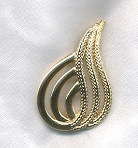 FOXTAIL Pin - Goldtone
