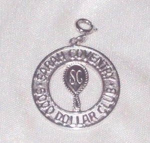 Sarah Coventry 5000 Dollar Club Charm