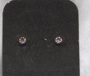 SARAH'S BIRTHSTONE EARRINGS - June