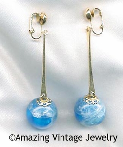 A-GO-GO Earrings - Blue