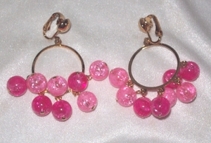 SURFIN Earrings - Pink