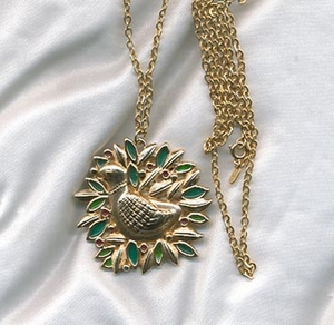 HOLIDAY DOVE Necklace