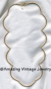 ALLURE Necklace - Goldtone