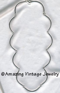ALLURE Necklace - Silvertone