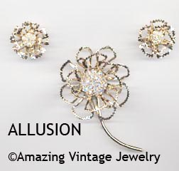ALLUSION Set - 1968 - Earrings available
