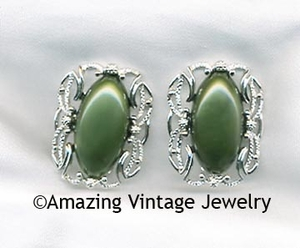 CAROUSEL Earrings - Green