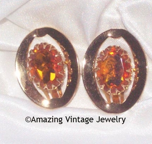 AMBER GLORY Earrings