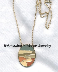 DESERT SCENE Necklace