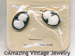 CAMEO LADY Earring Dangles