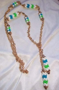 CAROUSEL Necklace Blue & Green