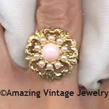 ANGEL PINK Ring