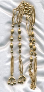 FASHIONETTE Necklace Goldtone