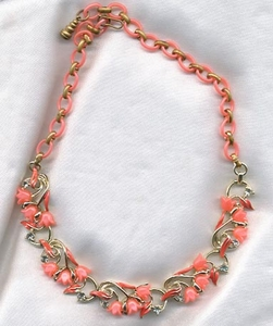 STAR Necklace - Melon insets