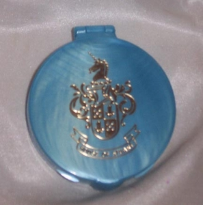 SC Blue Plastic Powder Compact