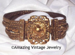 ANTIQUE MEDALLION Bracelet