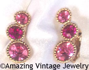 SAUCY Earrings - Pink
