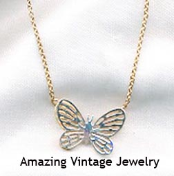 TWO-TONE BUTTERFLY Necklace