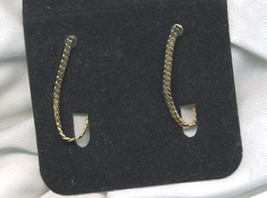 HERRINGBONE Earrings