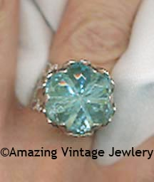 BLUE LACE Ring