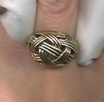GOLDEN WEAVE Ring