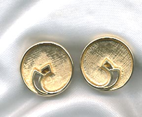EMMONS Goldtone clip Earrings
