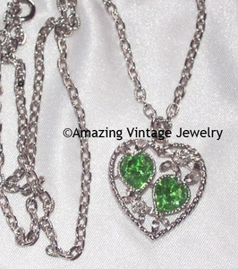 LOVE STORY Necklace - August (Peridot)