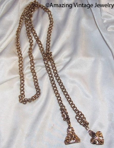 GOLDEN BELL Belt - Lariat Necklace