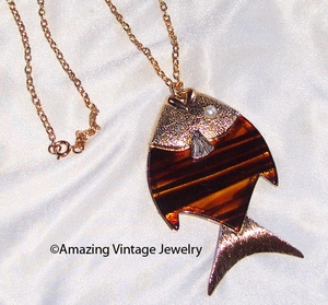 TIGER FISH Necklace