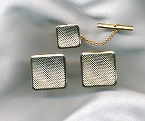 TIMES SQUARE Tie Tac/Cuff Links