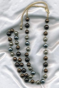 UMBER TONES Necklace - Long