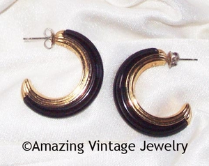VARIATIONS Earrings - Black only - Pierced