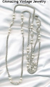 CAGED PEARL Necklace