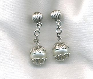CHAIN-ABILITY Earrings - Silvertone Pierced