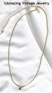 VERSATILITY CHAIN Necklace - Goldtone
