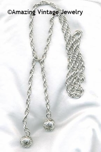 CHAIN-ABILITY NECKLACE - Silvertone