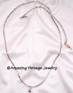 VERSATILITY CHAIN Necklace  - Silvertone