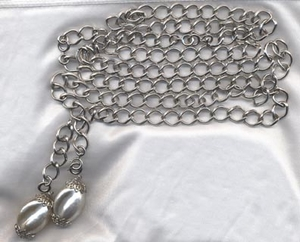 CHAIN O' FASHION Silvertone