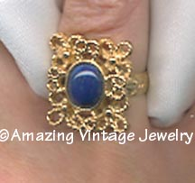 VICTORIA BLUE Ring
